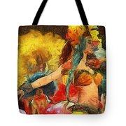 Brazilian Carnival Tote Bag by Ayse Deniz