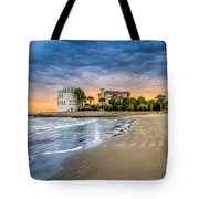 Breach Inlet Sunset Tote Bag