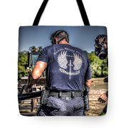 Breaching With Baton Rouge Swat Tote Bag