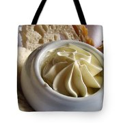 Bread And Butter Tote Bag by Jennifer Wheatley Wolf