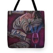 Bread And Wine Tote Bag