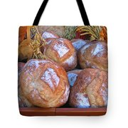 Bread At A French Market Tote Bag