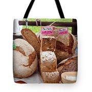 Bread On Local Market Tote Bag