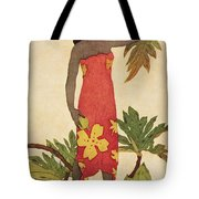 Breadfruit Girl Tote Bag