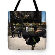 Break Dancer  Columbus Circle Tote Bag