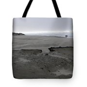 Break In The Storm Tote Bag