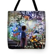 Break Through Tote Bag