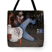 Breakdancer Tote Bag