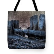 Breakers At Whitefish Point Michigan Tote Bag