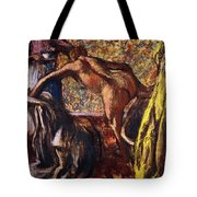 Breakfast After The Bath Le Petit Dejeuner Apres Le Bain Tote Bag