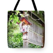 Breakfast At The Birdhouse Tote Bag