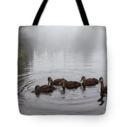 Breakfast For The Juveniles Tote Bag