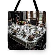 Downton Abbey Breakfast Tote Bag