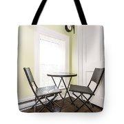 Breakfast Nook In Rustic House Tote Bag by Elena Elisseeva