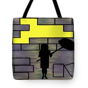 Breaking Down Barriers Tote Bag