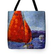 Breaking Storm Tote Bag by Vickie Warner