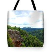 Breaks Interstate Park Virginia Kentucky Rock Valley View Overlook Tote Bag