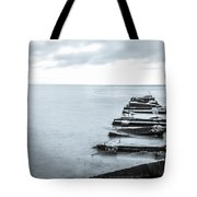 Breakwater Monochrome Tote Bag