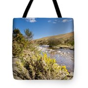 Breamish Valley In Spring Tote Bag