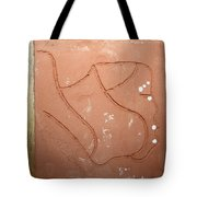 Breath - Tile Tote Bag