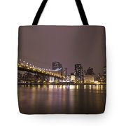 Breathing The Night Away Tote Bag