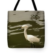 Breeding Egret Tote Bag