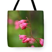 Breezy Coral Bells  Tote Bag