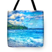 Breezy Hawaii Morning Tote Bag