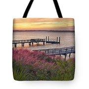 Breezy Pampas Grass Tote Bag
