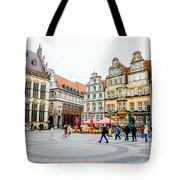 Bremen Main Square Tote Bag