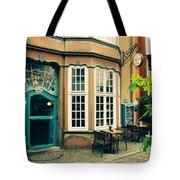 Bremen Schnoor Cafe Tote Bag