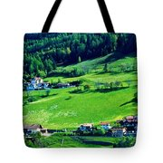 Brenner Pass Greenery Tote Bag