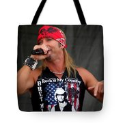 Bret Michaels In Philly Tote Bag