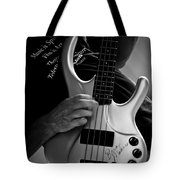 Brian Melvin Autographed Guitar Tote Bag