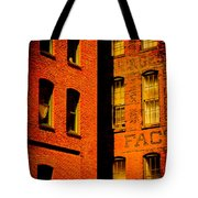 Brick And Glass Tote Bag