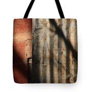 Brick And Metal Tote Bag