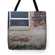 Brick Broken Plaster And Window Tote Bag