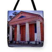 Brick Church Tote Bag