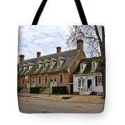 Brick House Tavern In Williamsburg Tote Bag