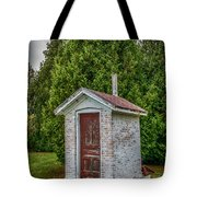 Brick Outhouse Tote Bag
