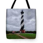 Brick Pathway To The Lighthouse Tote Bag