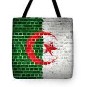 Brick Wall Algeria Tote Bag