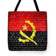 Brick Wall Angola Tote Bag