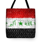 Brick Wall Iraq Tote Bag