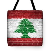 Brick Wall Lebanon Tote Bag