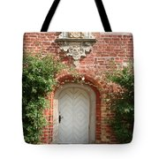 Brickcastle And White Door Tote Bag