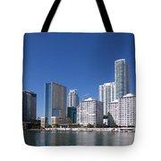 Brickell Skyline Tote Bag