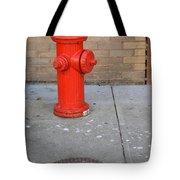 Bricks And Fire Tote Bag