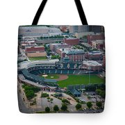 Bricktown Ballpark D Tote Bag by Cooper Ross