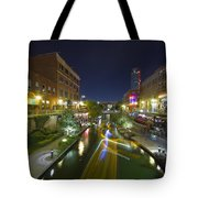 Bricktown Canal Water Taxi Tote Bag
